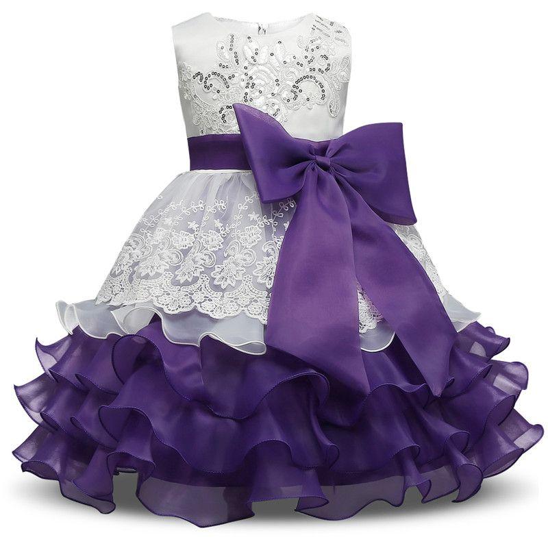 Marca o Vestido Da Menina Bebê Crianças Crianças Vestidos Para ...