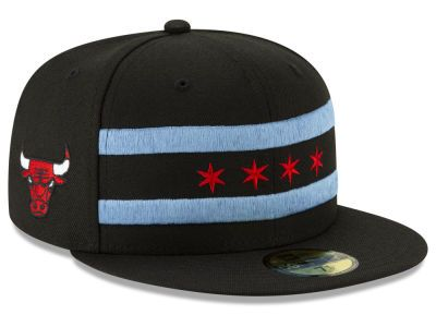 Show off your city pride with Chicago Bulls New Era NBA City Series 2.0  59FIFTY Cap at LIDS today! 697902112f91