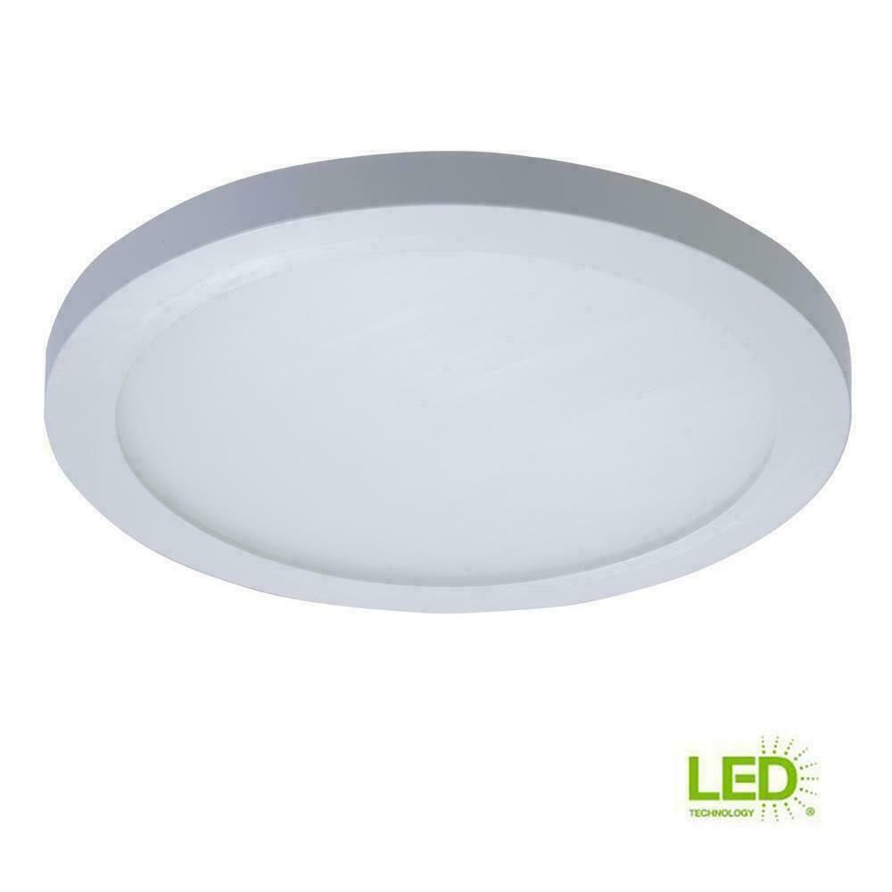 Ebay Sponsored Halo Smd 5 6 In White Led Recessed Round Surface Mount Ceiling Light Fixture White Lead Surface Mount Lighting Surface Mount Ceiling Lights