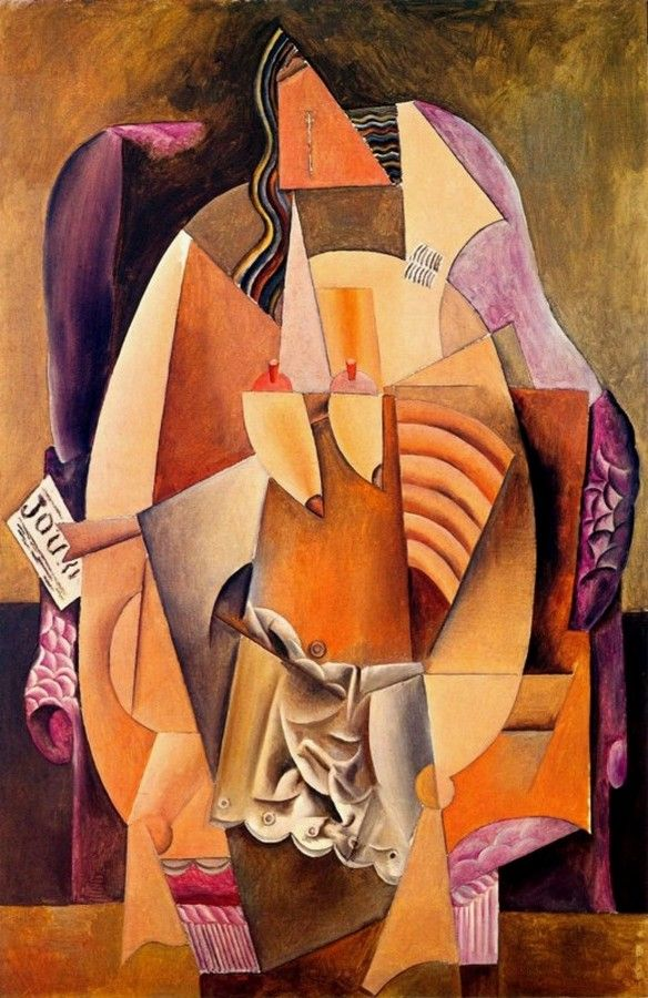 1913 Dans Assise Un Picasso Femme Fauteuil Chemise En Pablo XnI8fYvY