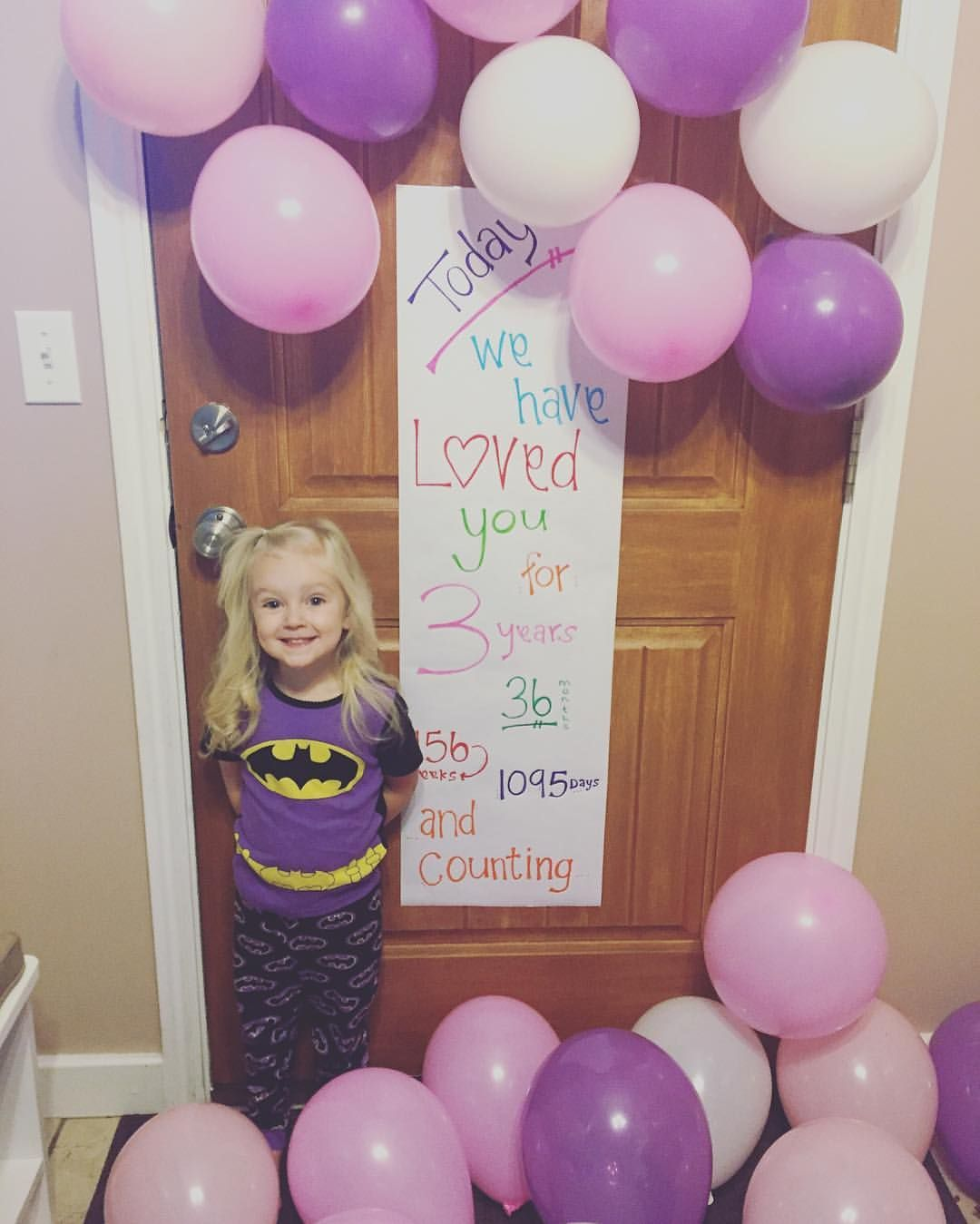 Birthday Sign {I Saw This Cute Sign Idea On Pinterest And