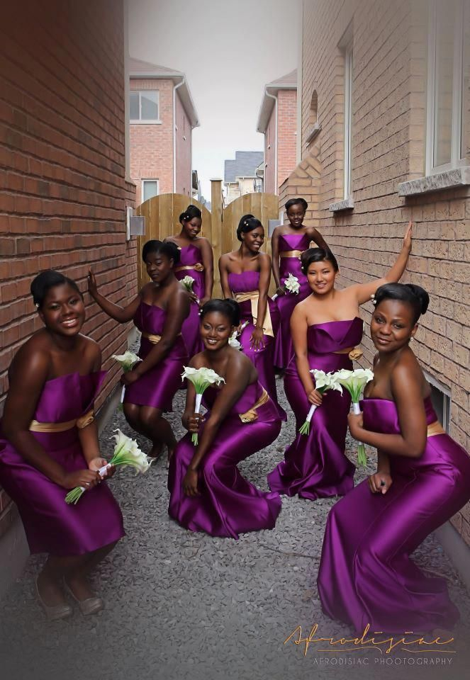 African Sweetheart Weddings Help What Colour Should My Bridesmaids Wear