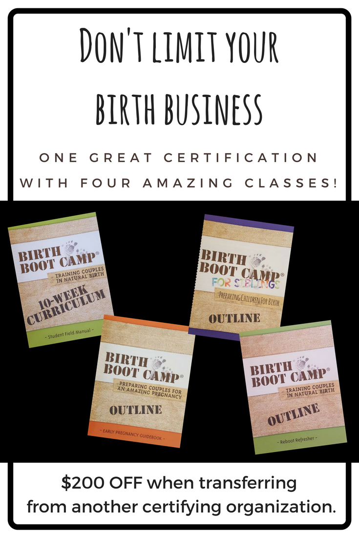 Become A Birth Boot Camp Instructor Today Hospital Birth