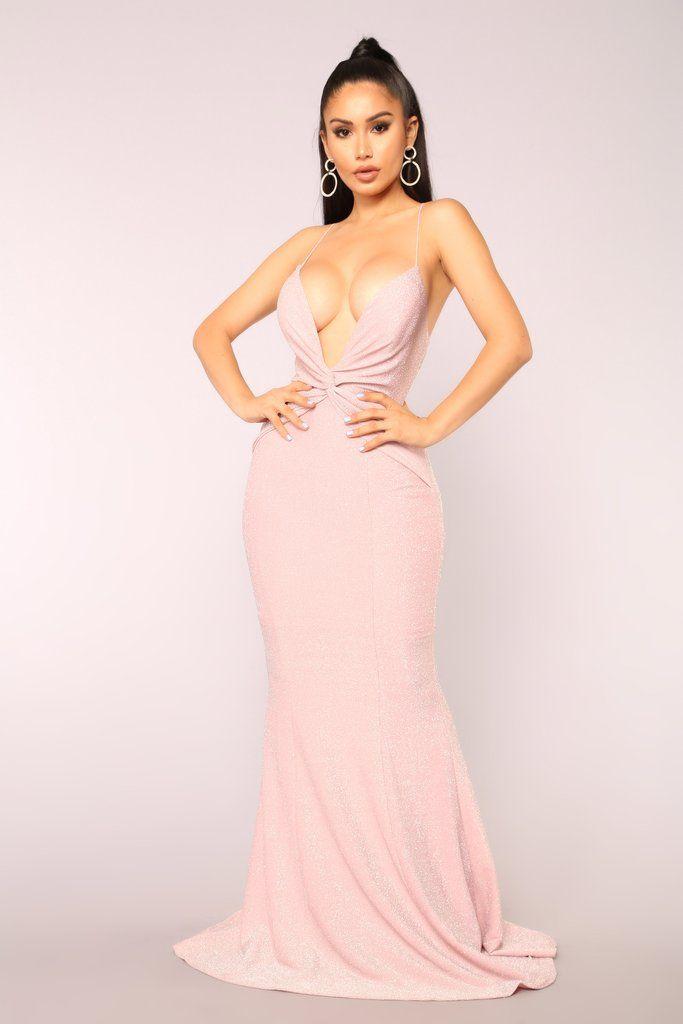 a2011e9828f82 Take The Stage Metallic Maxi Dress - Mauve | Fashion Nova | Dresses |  Metallic maxi dresses, Dresses, Mauve dress