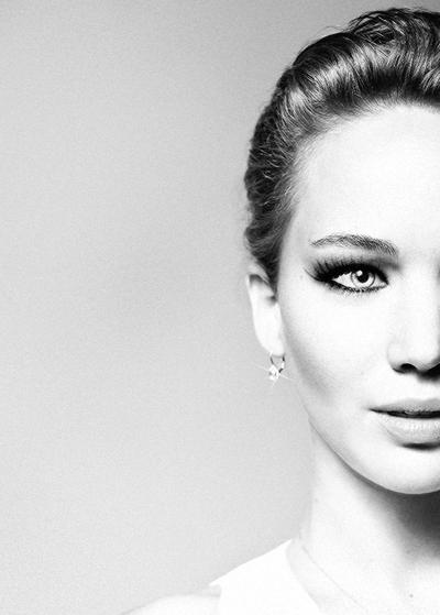 Love this closeup of Jennifer Lawrence.