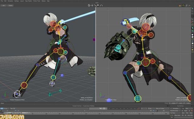 『NieR:Automata(ニーア オートマタ)』を開発するプラチナゲームズに潜入! 開発真っ只中の現場をリポート【拡大画像】 - ファミ通.com