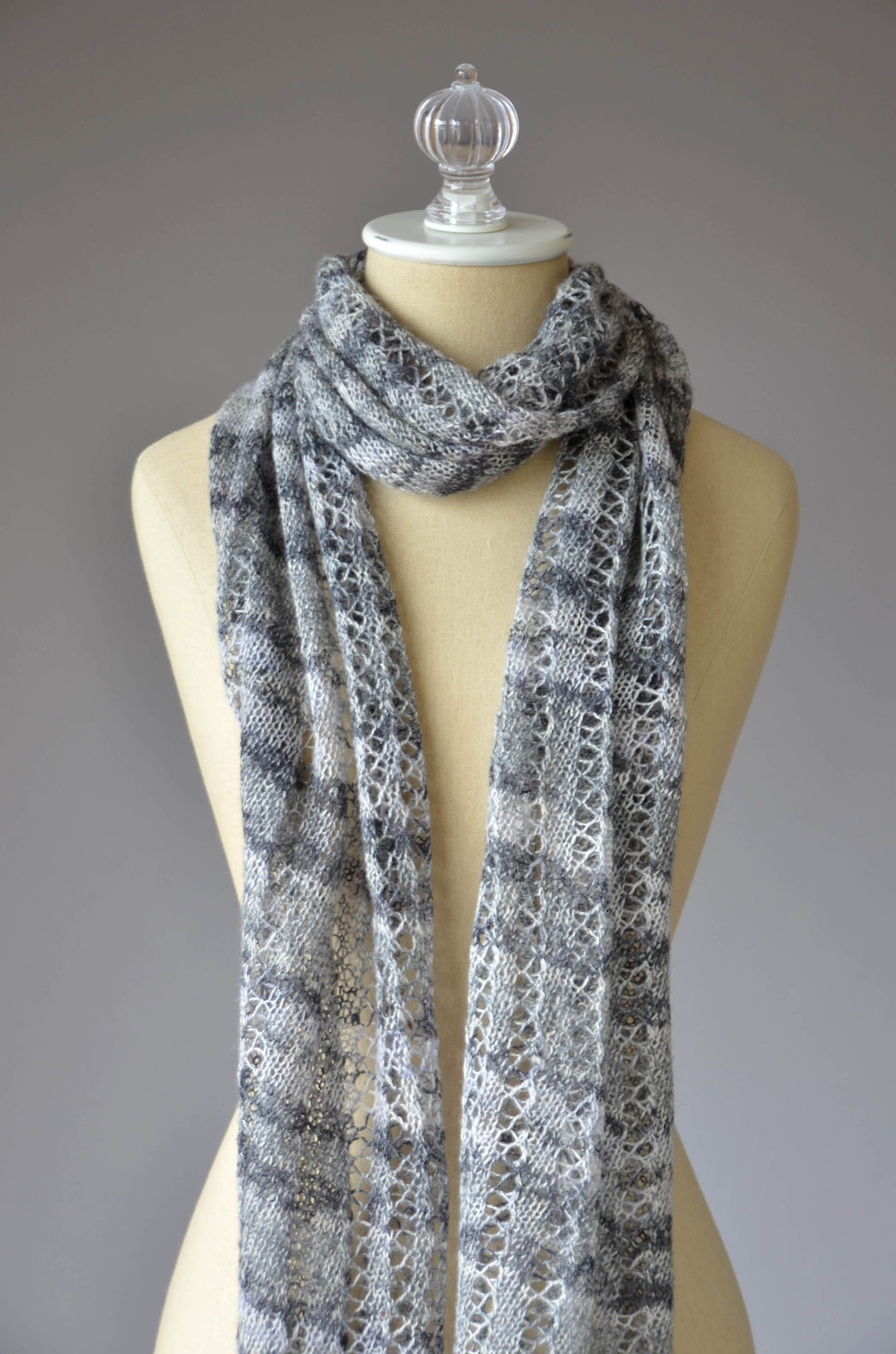 Free pattern friday augustine scarf knit in fibra natura whisper free pattern friday augustine scarf knit in fibra natura whisper lace bankloansurffo Choice Image