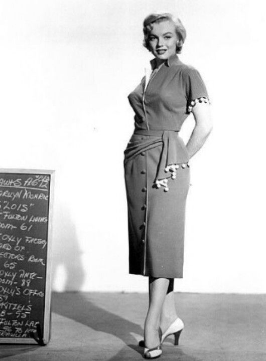 Marilyn in a costume test for Monkey Business, 1952.