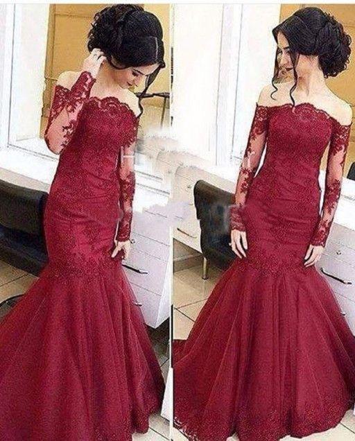 d007347a6ed0 lace Prom Dresses