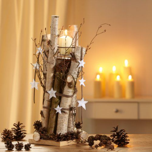 weihnachts deko natur ideen zum selbermachen diy christmas centerpieces deco noel. Black Bedroom Furniture Sets. Home Design Ideas