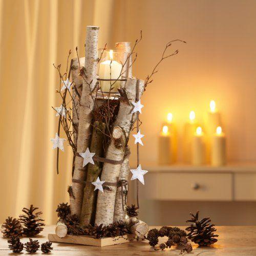 weihnachts-deko natur: ideen zum selbermachen: | weihnachten ... - Weihnachtsdeko Ideen Holz