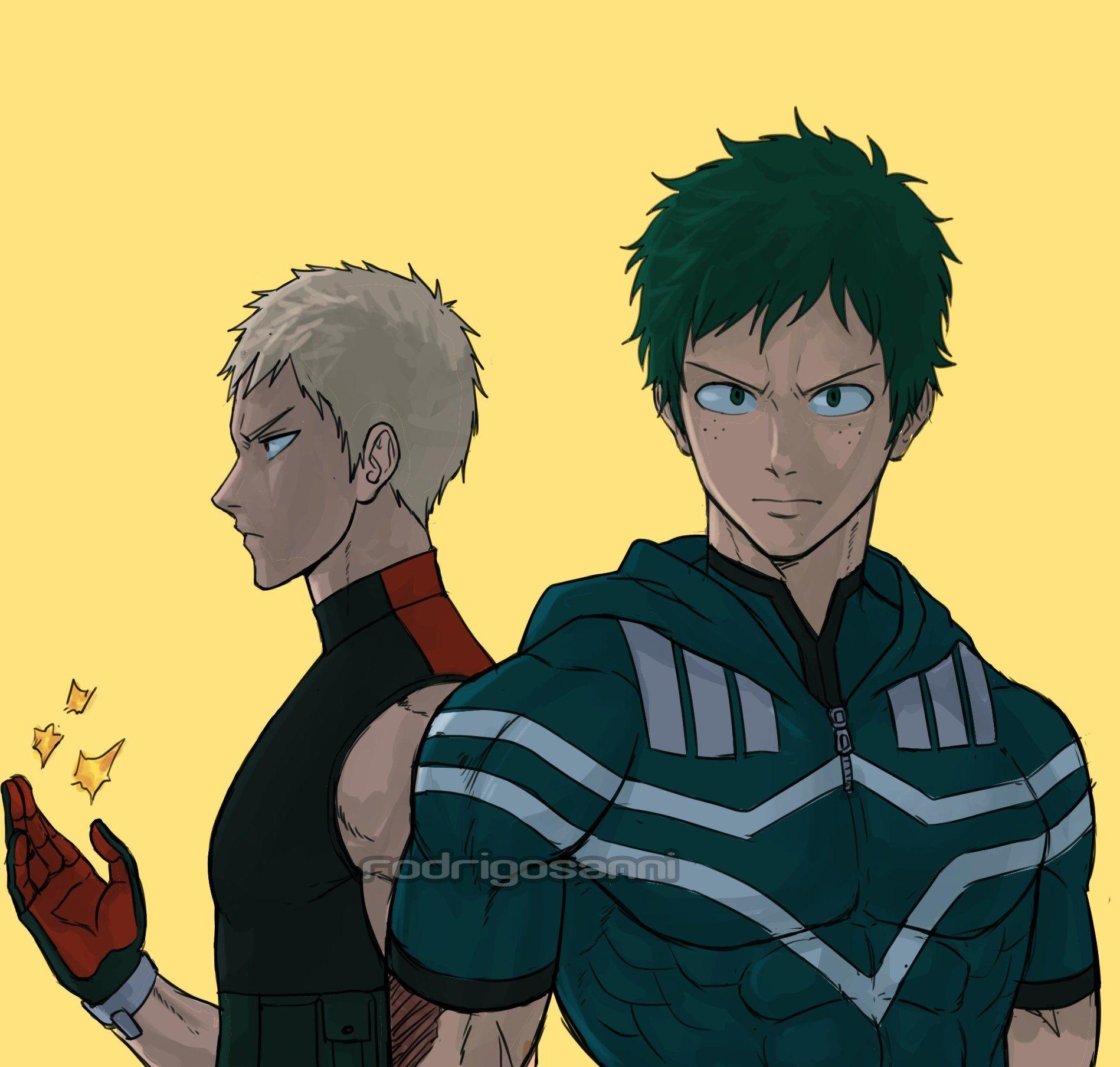 Boku No Hero Time Skip Bakugou And Midoriya Bokunoheroacademia Hero Time My Hero Hero
