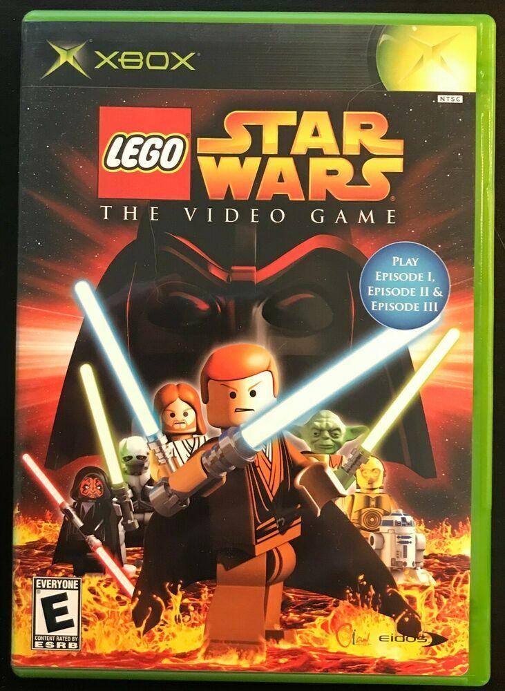 LEGO Star Wars The Video Game Original Xbox Game Pre
