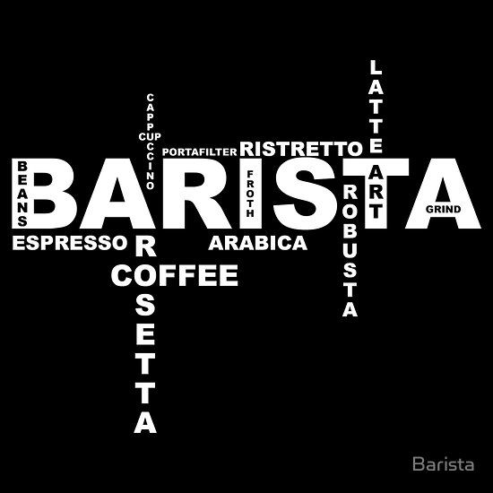 Barista By Barista Barista Coffee Shop Logo Coffee Shop Aesthetic