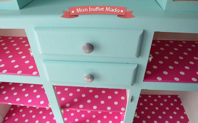 Relooking de mon buffet Mado, un buffet vintage des années 50 - Blog ...