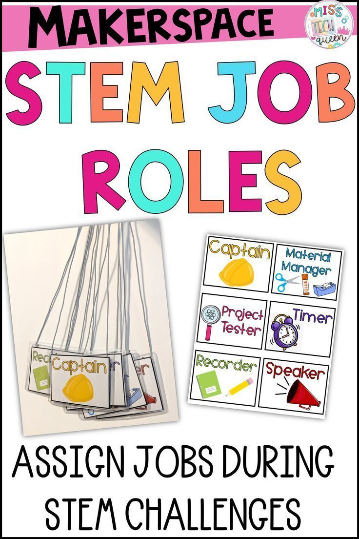 STEM Challenge Team Jobs Stem challenges, Student jobs
