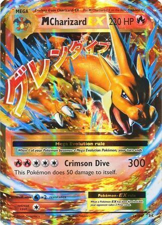 Mega charizard ex 13 108 xy evolutions holo the - Pokemon mega evolution ex ...