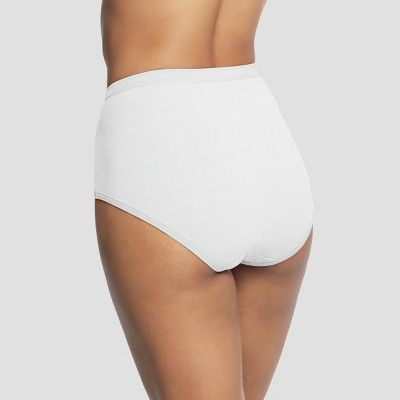 9b7e3f9a55 Hanes Women s Briefs PP40WH 6-Pack - White 9 in 2019