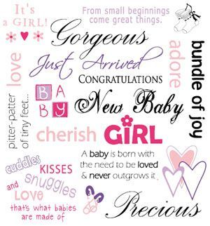 New Family Addition Quotes Girl Inspired Baby Girl Quotes
