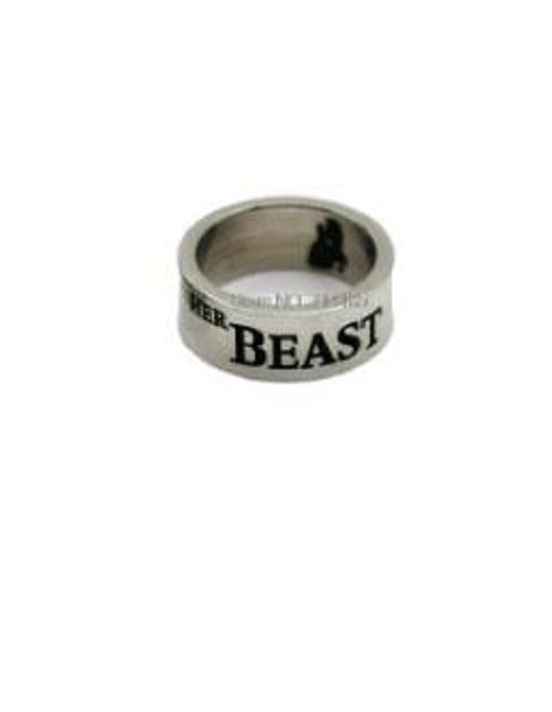 Details about BEAUTY AND THE BEAST RING 'HER BEAST