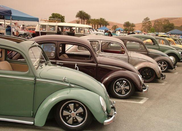 Split cal-look VW bugs