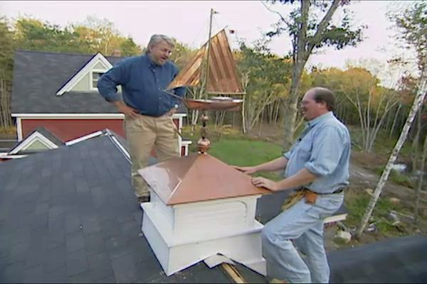 How To Install A Cupola And Weathervane Diy Roofs And