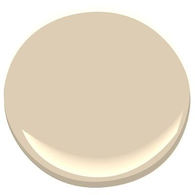 Benjamin Moore Thousand Islands: a light brown neutral, rich vanilla color