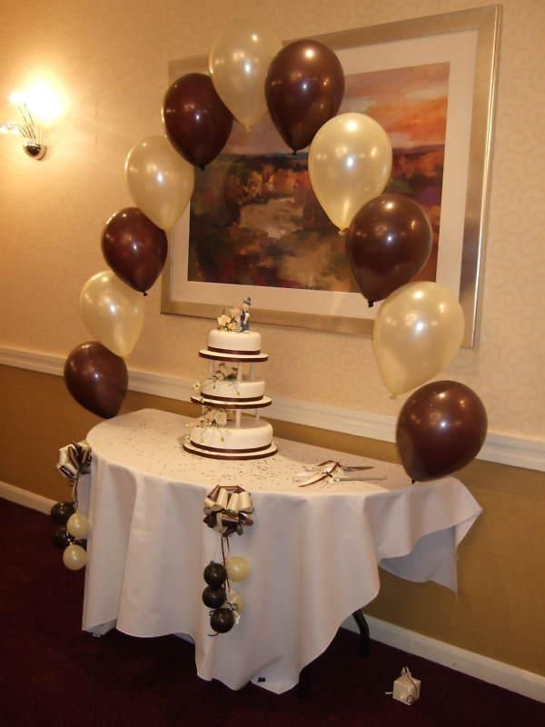 we do all wedding venues or halls for your balloons packages we
