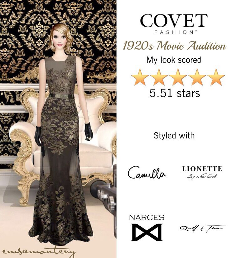 1920s Movie Audition @covetfashion #covet #covetfashion #covetfashionapp #fashion #womensfashion #EmmaRoberts
