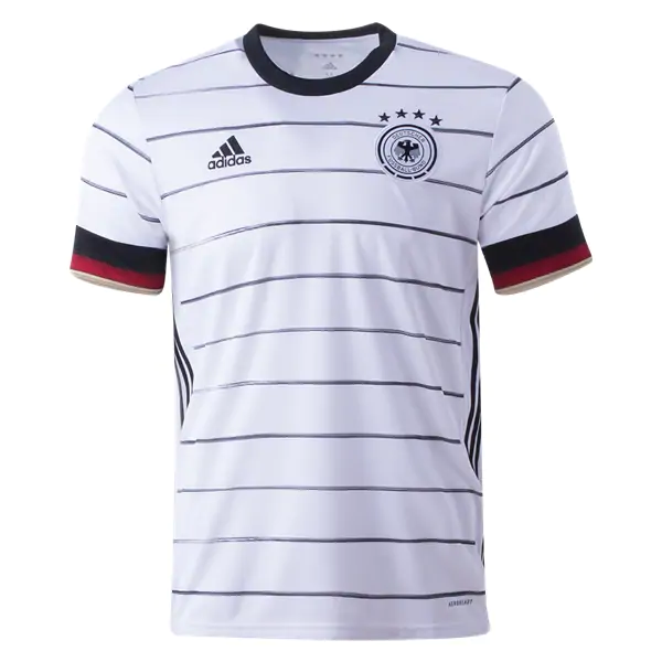 Germany Euro 2020 Home Jersey By Adidas World Soccer Shop Soccer Jersey World Soccer Shop White Jersey Shirt