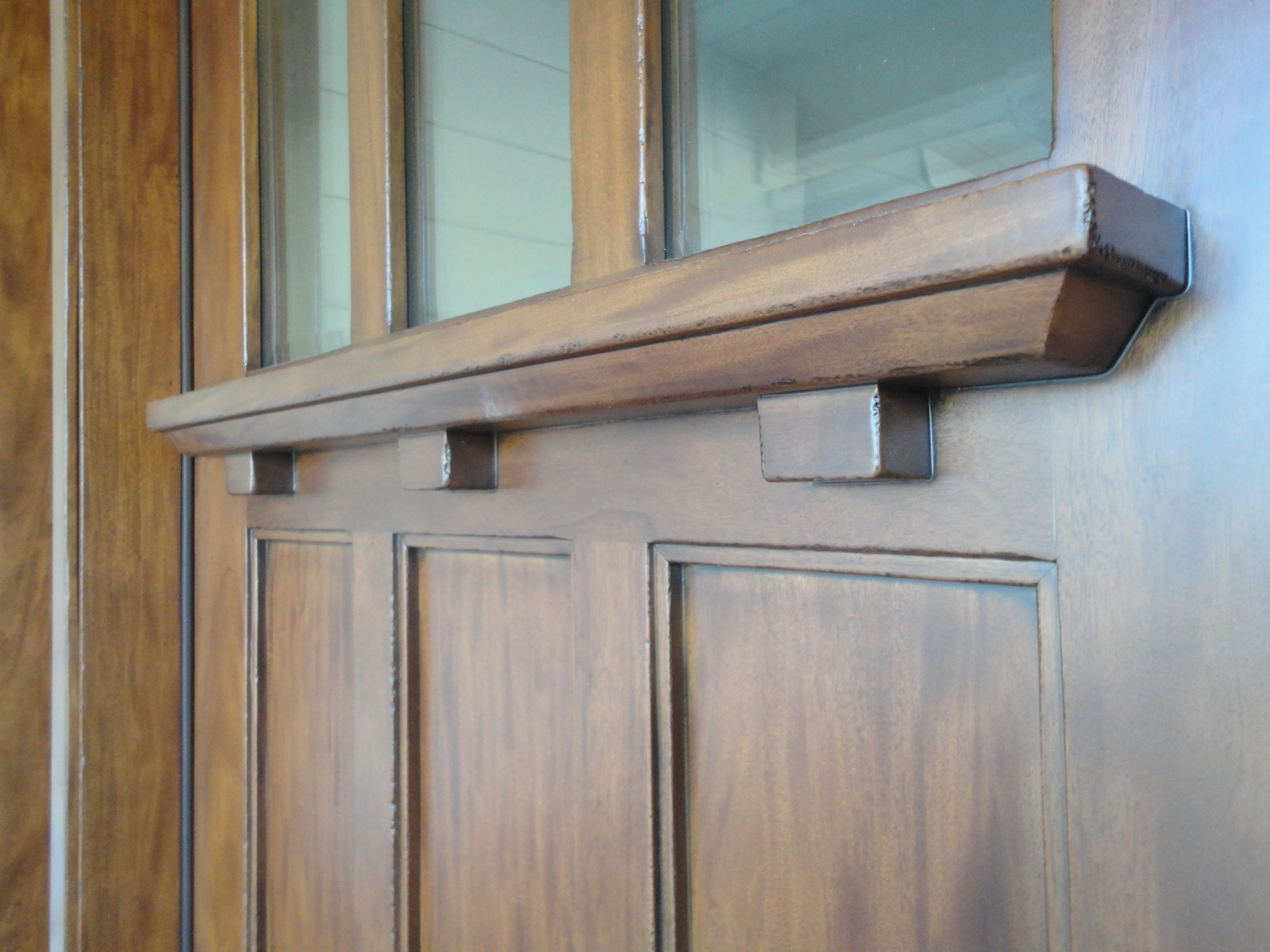 Detail Of Craftsman Dentil Shelf
