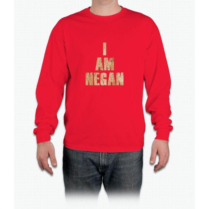 I Am Negan Long Sleeve T-Shirt