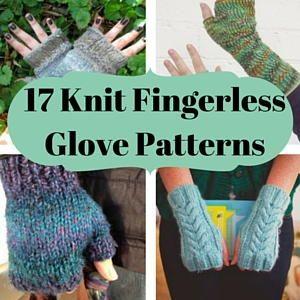 17 Knit Fingerless Glove Patterns
