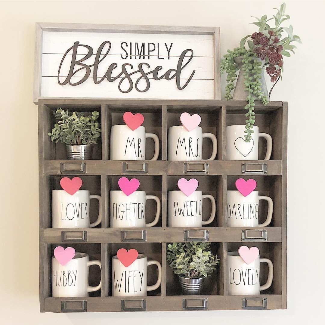 "Charity on Instagram ""My mug shelf got a little"