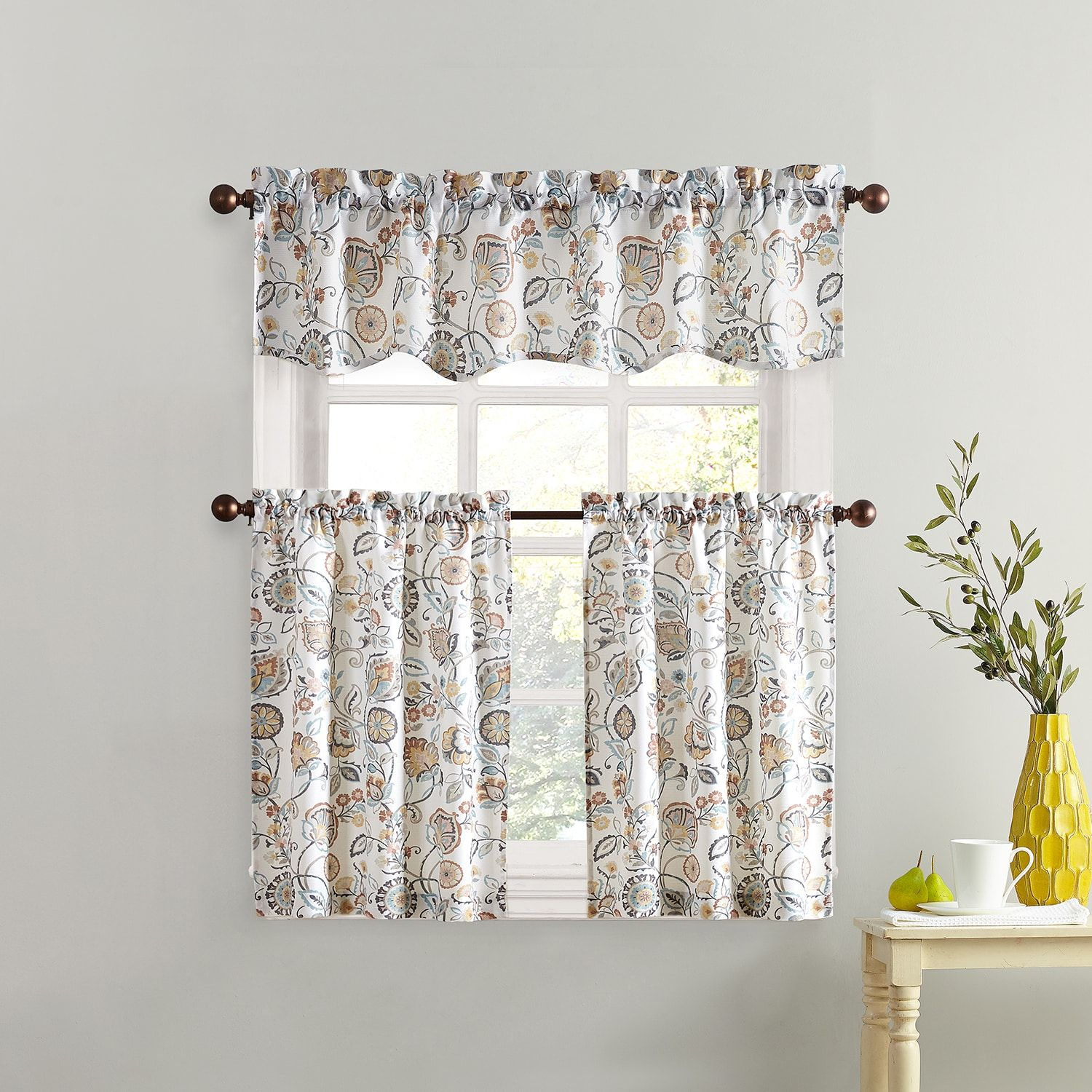 living bath kitchen adorn any cafe story curtains design of bed valance window treatments size two furniture home with and bedroom beyond for coral coverings in your moroccan windows gray drapes cheap modern large curtain room box full valances