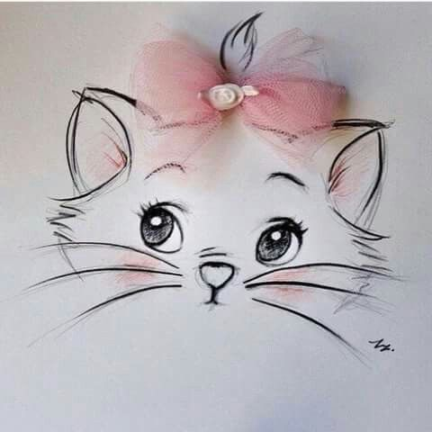 cute kitty ideas for gifts pinterest kitty drawings and