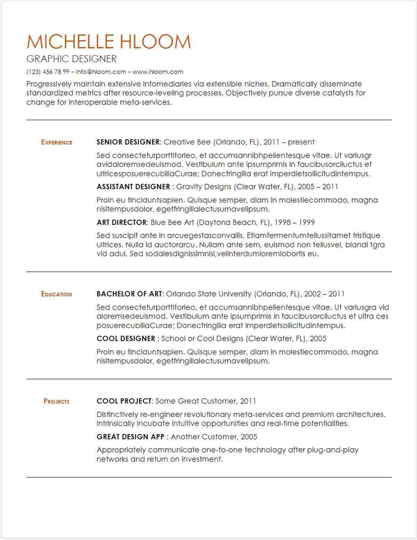 Google Docs Resume Template Resume Design Template Resume Template Resume Template Free