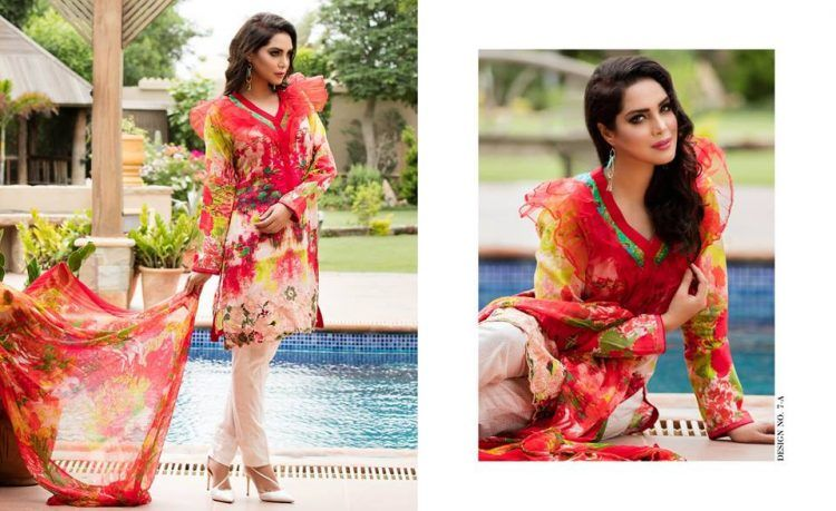 4534d4f48c Zara Khan SS Designer Embroidered Lawn 2018 by Zohan Textiles ...