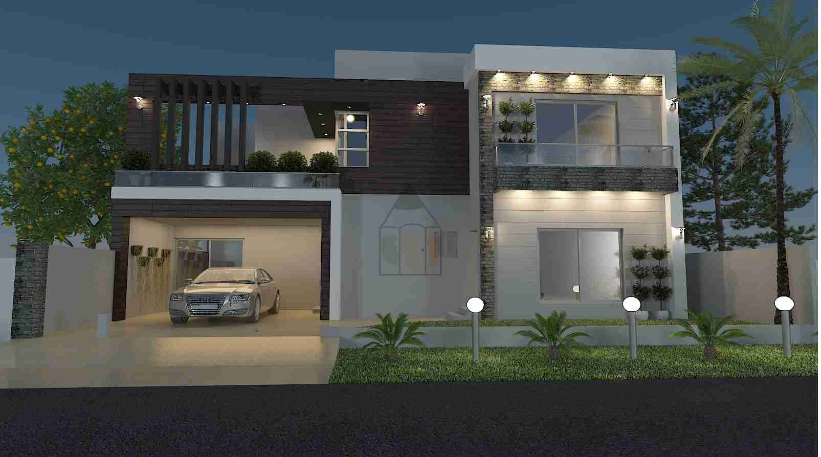 Ghar Ka Naksha Front Elevation House Plan Front