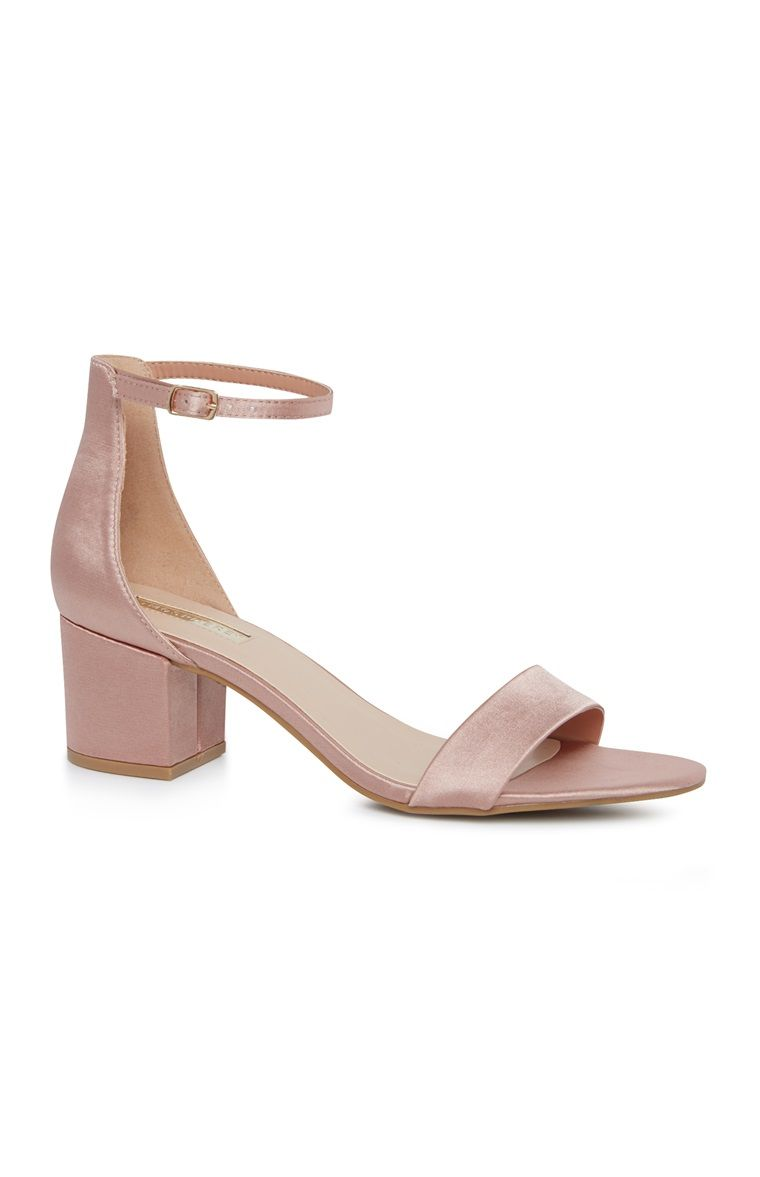 54f2f9b1a31 Pink Block Heel Sandal, Primark, The Mall Luton | Shoes I need in ...