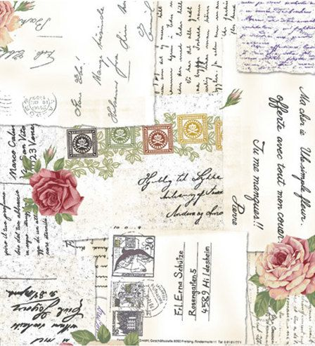 End Of The Bolt RosieS Love Letters Postcard By Stof AS St