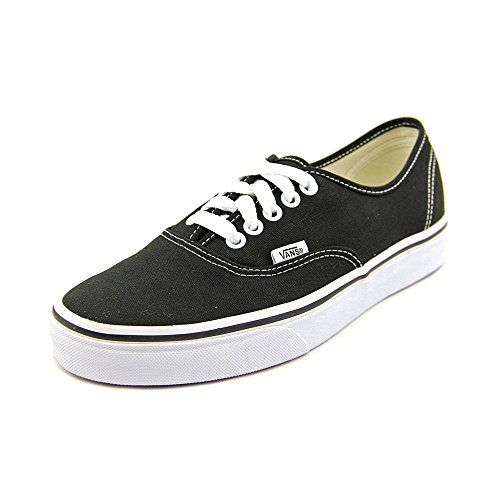 VANS Unisex Authentic Black Canvas VN000EE3BLK Mens 115 Womens 13   You can  find more details by visiting the image link.(This is an Amazon affiliate  link ... 09b7c0de9