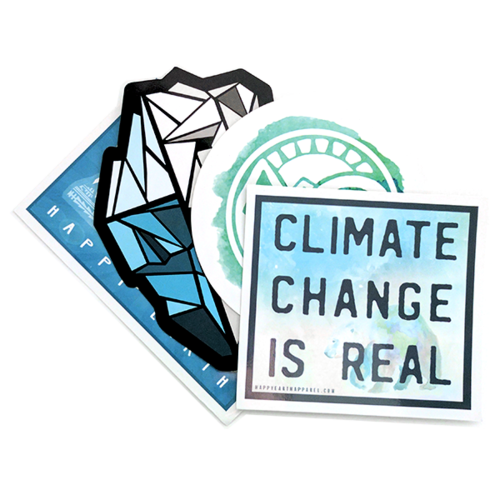 Keepin it cool stickers