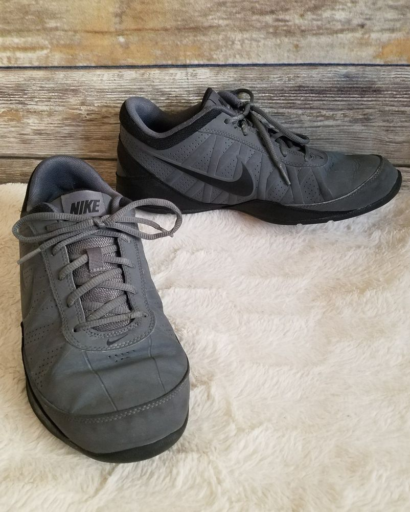 a9aacaaa0b5527 Nike Mens Gray Air Ring Leader Low Athletic Basketball Shoes - Size US 9.5