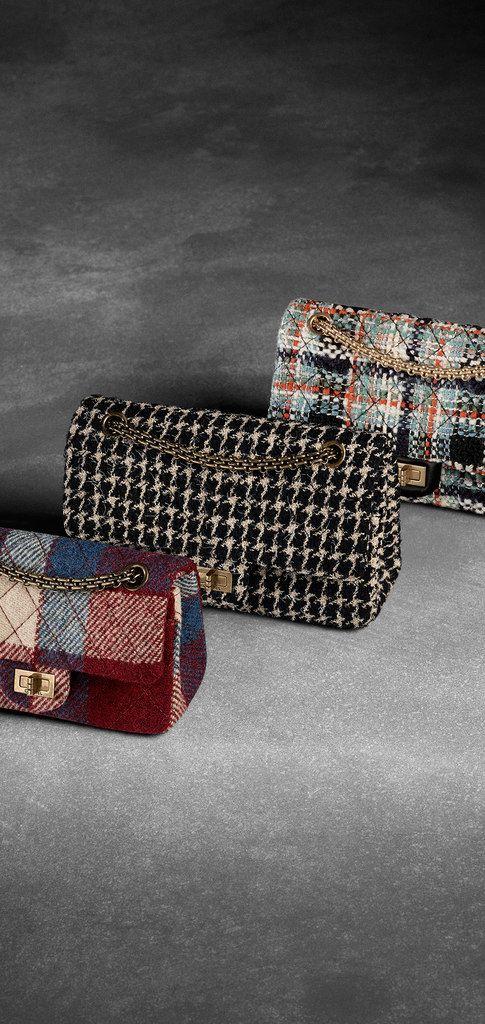 52ce134e4308 Tweed 2.55 flap bag - CHANEL | Tweed in 2019 | Chanel fashion ...