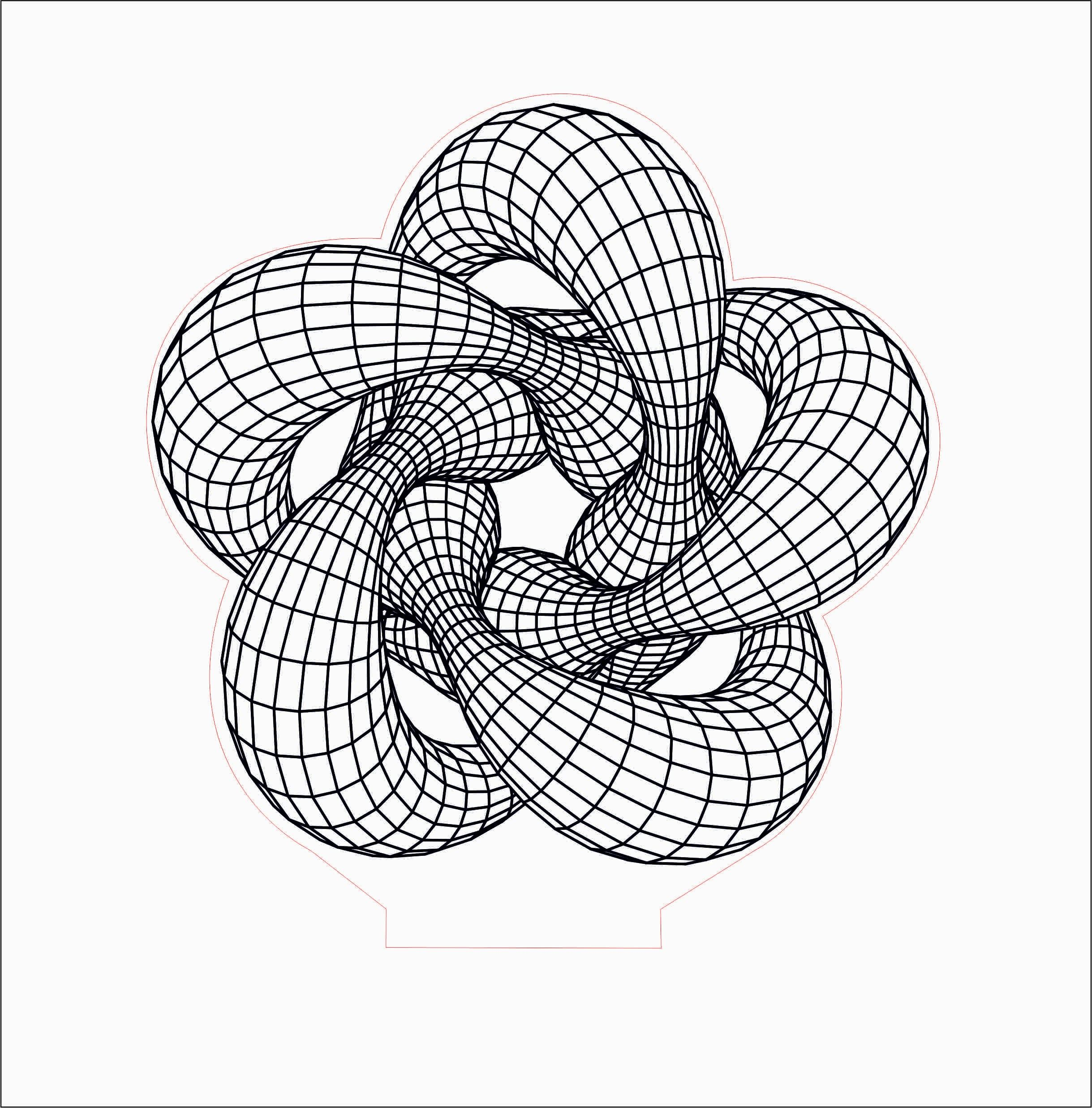 Pin By Luana Bermudez On Acrylic Lamp Mandala Drawing 3d Illusions Wall Drawing