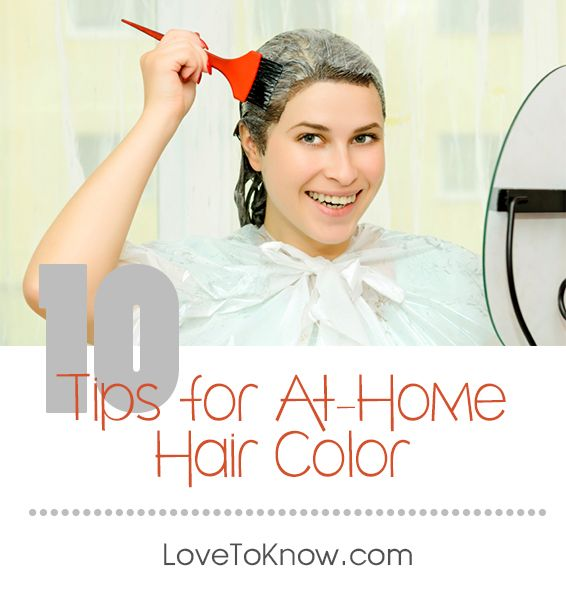 Coloring your hair at home can save you time and money. However ...