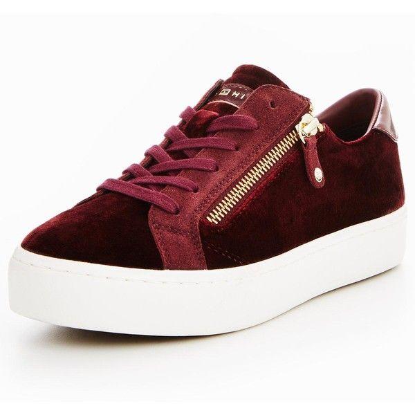 Velvet sneakers, Shoe bag, Tommy hilfiger