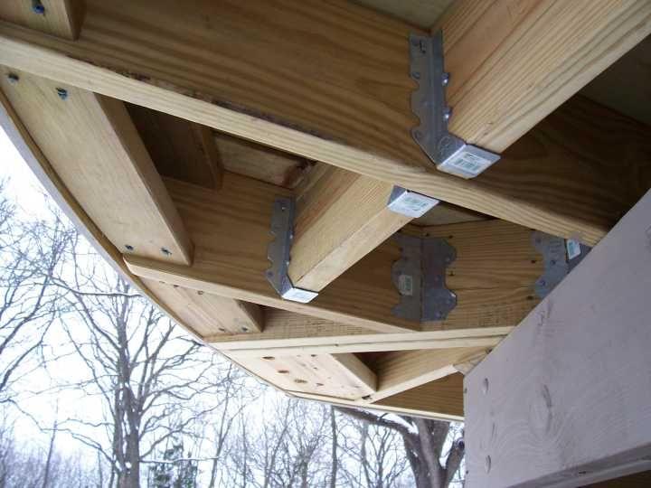 Curved Deck Curved Deck Building A Deck Deck Building Plans