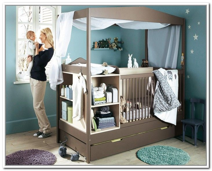 canopy crib | Canopy Crib With Storage - Canopy Crib Canopy Crib With Storage Muebleria Pinterest